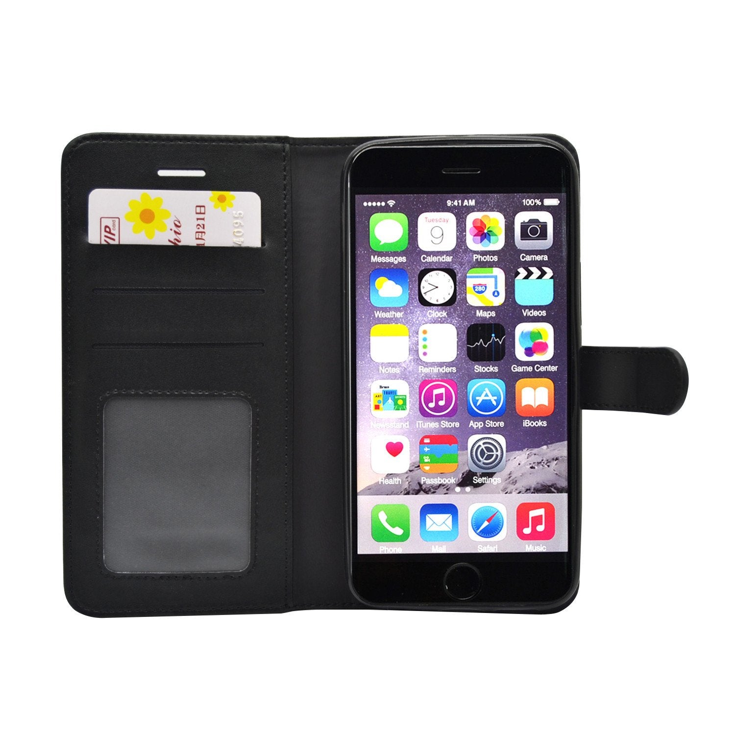 EVERYDAY Leather Wallet Phone Cover – iPhone 6/6S