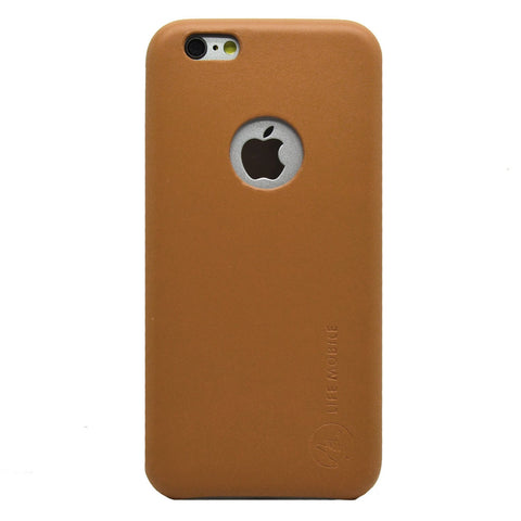 Dapper Leather Back Case - iPhone 6 Plus/6S Plus