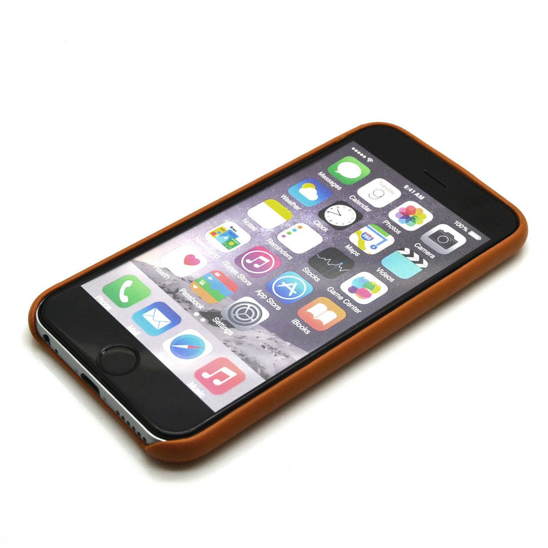 Dapper Leather Back Case - iPhone 6/6S