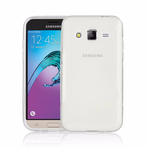 EQUAL Gel Case Clear - Samsung Galaxy J3