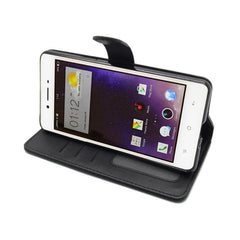 EVERYDAY Leather Wallet Phone Cover – Oppo F1s