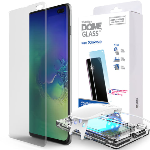 WhiteStone UV Full Glue Dome Glass - for Samsung S10 Plus