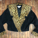 Load image into Gallery viewer, Simon Chang Leopard Coat