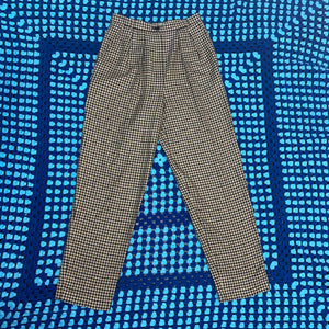 High Waisted Tweed Pants