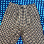 Load image into Gallery viewer, High Waisted Tweed Pants