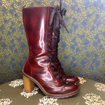 Load image into Gallery viewer, Red Heeled Doc Martens