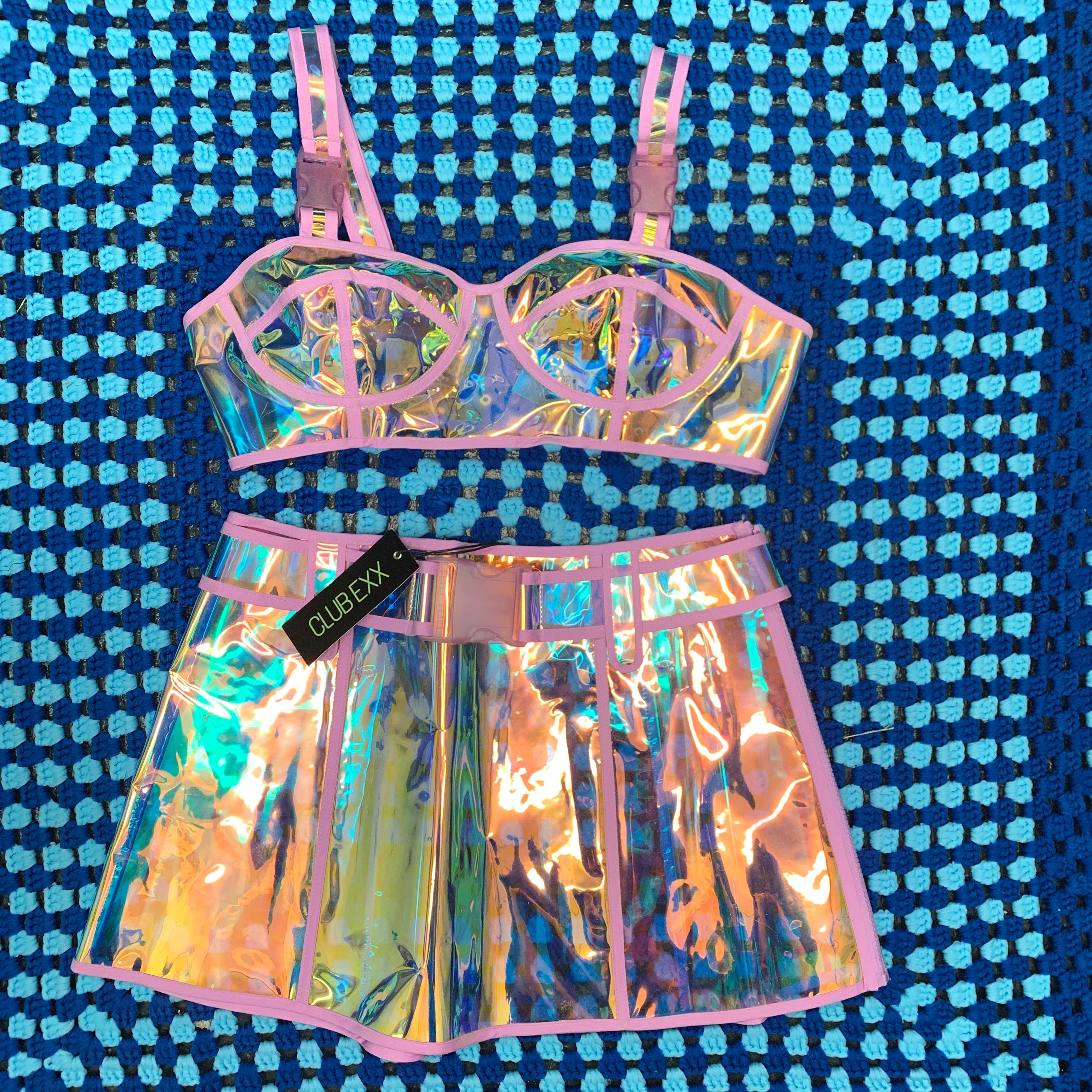 See Through Holographic Set