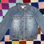 Charger l'image dans la galerie, Lace-Up Jean Jacket