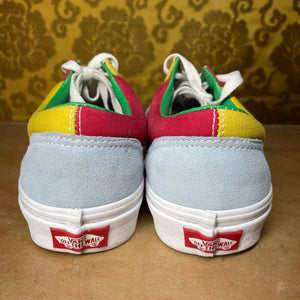 Colour Block Vans