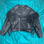 Charger l'image dans la galerie, Leather Fringe Jacket