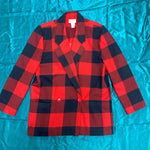 Load image into Gallery viewer, Red Plaid Blazer