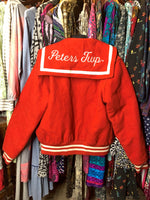 Load image into Gallery viewer, Red Cheerleader Jacket