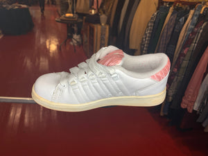 Pink and White K-Swiss Shoes