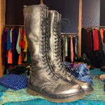 Load image into Gallery viewer, Metallic Dr. Martens Boots