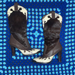 Load image into Gallery viewer, Heeled Cowboy Boots