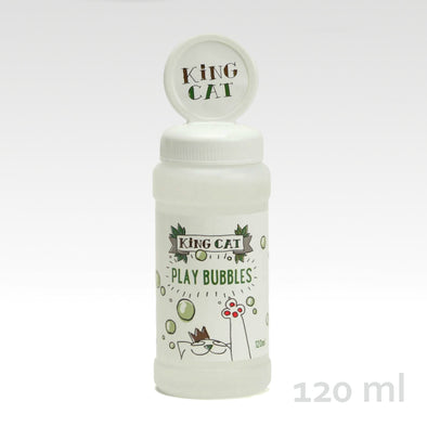 King Catnip Play Bubbles 120 ml
