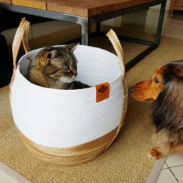 Ray Paper Rope Cat Bed