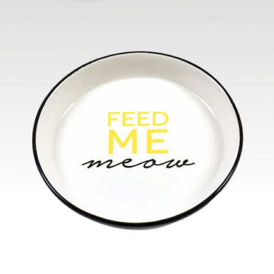 Feed Me Meow Medium Dish