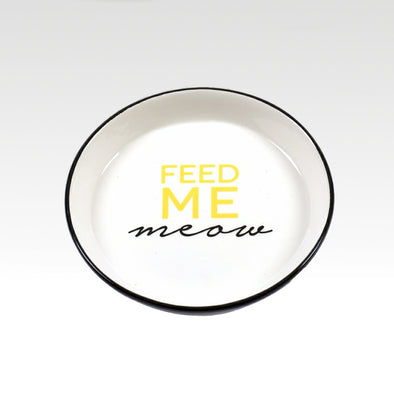 Feed Me Meow Small Dish