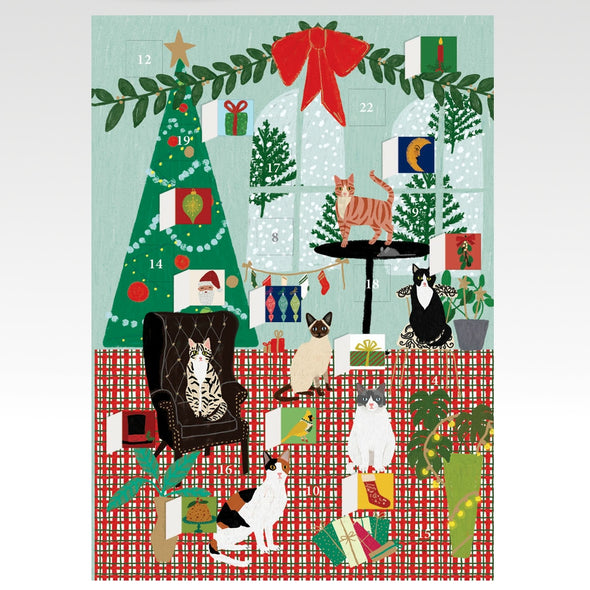 Cat Xmas Adventskalender poster