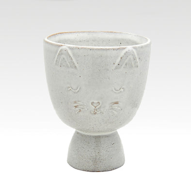 Speckled Cat Planter