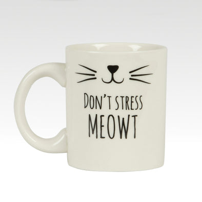 Cat's Whisker Don't Stress Moewt Mug