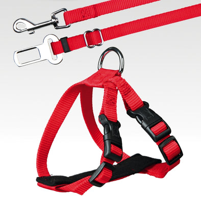 Car Harness Red