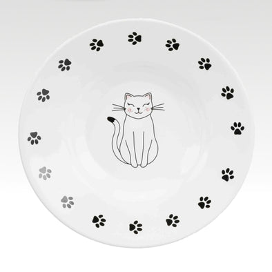 Kitty's Soup Plate