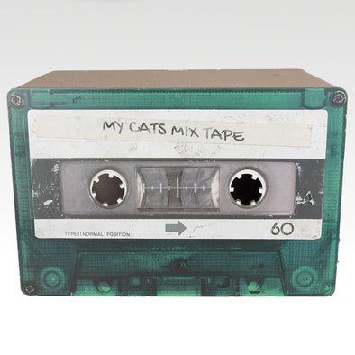Cardboard Mix Tape Green