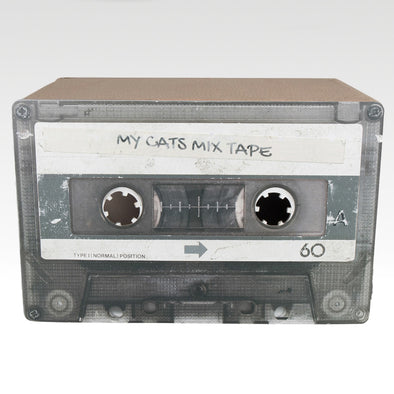 Cardboard Mix Tape Black
