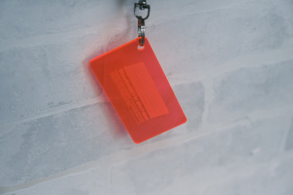 SITUASION Neon keyholder[Red]