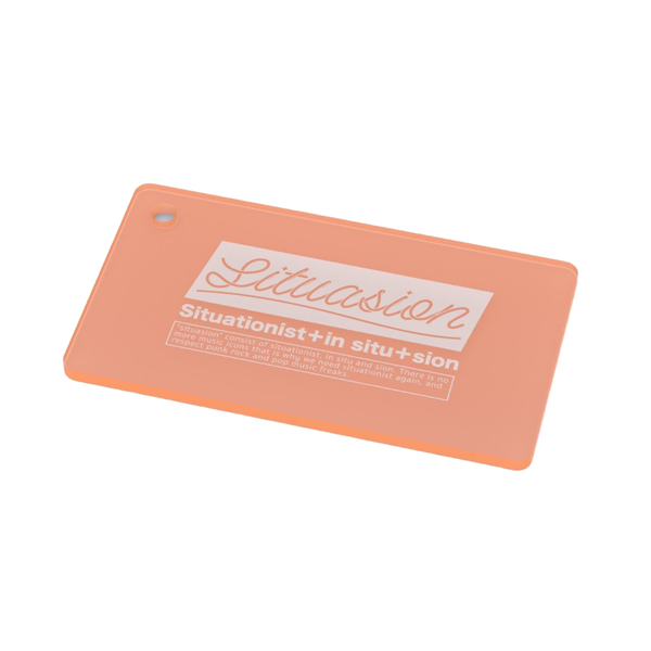 SITUASION Neon keyholder[Orange]