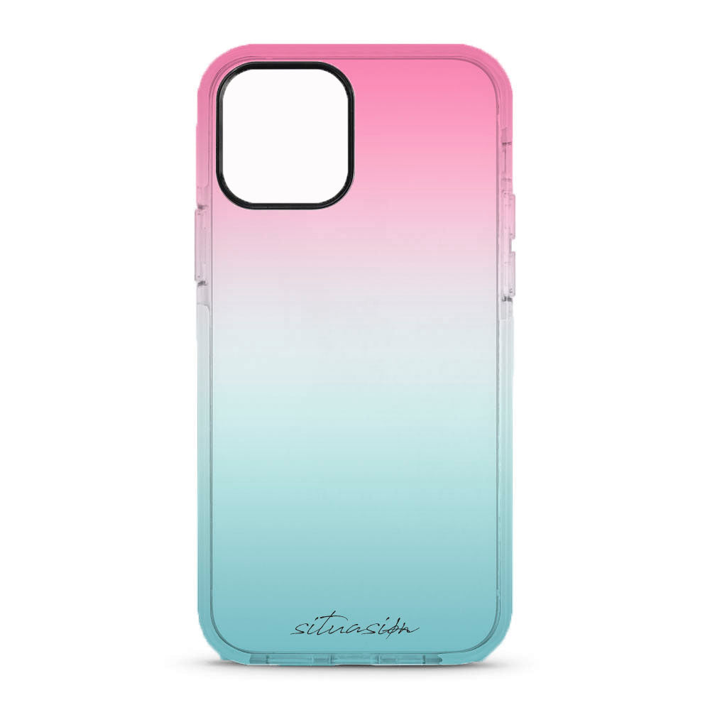 SITUASION Clear iPhonecase[Simple Gradation]
