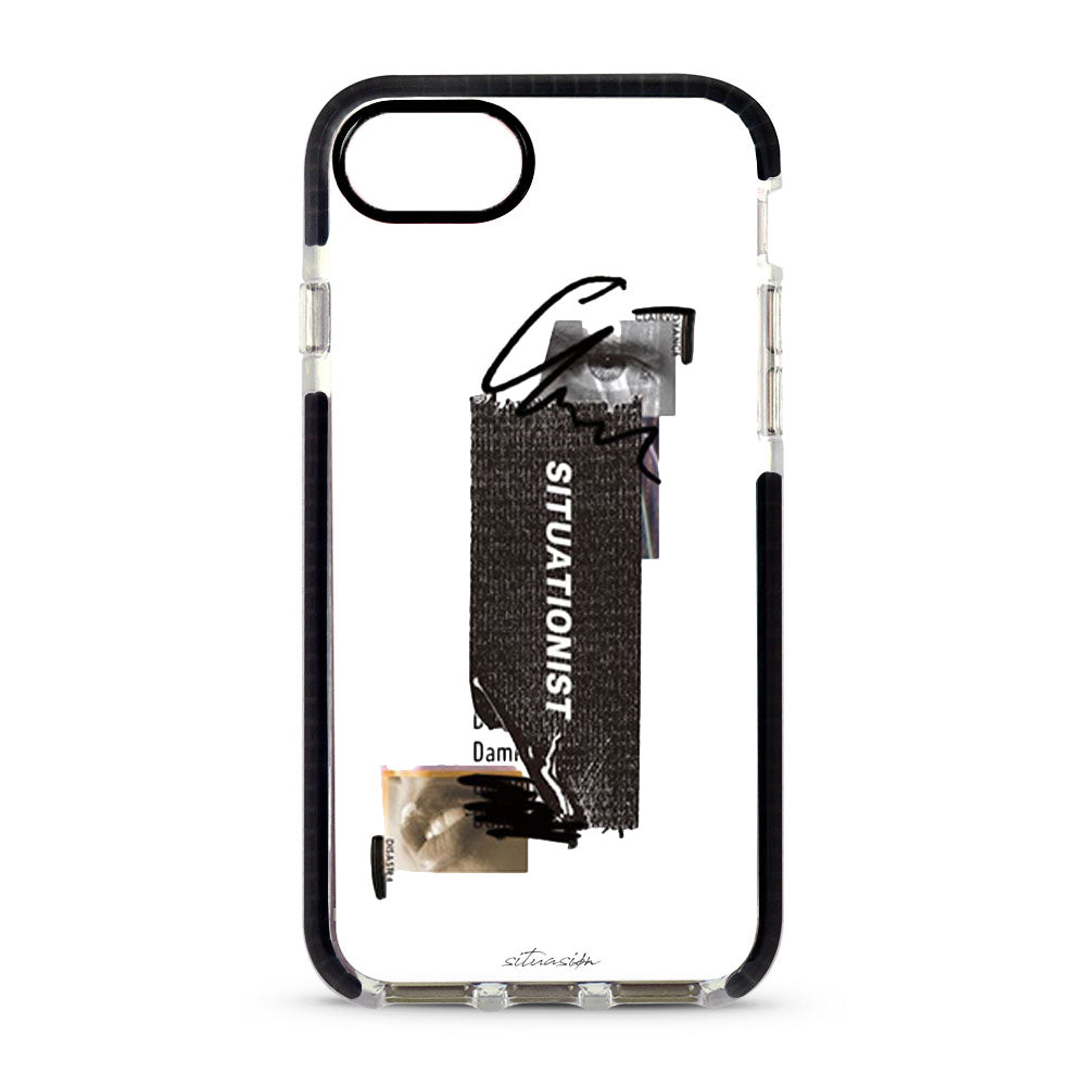 SITUASION Clear iPhonecase[Black]