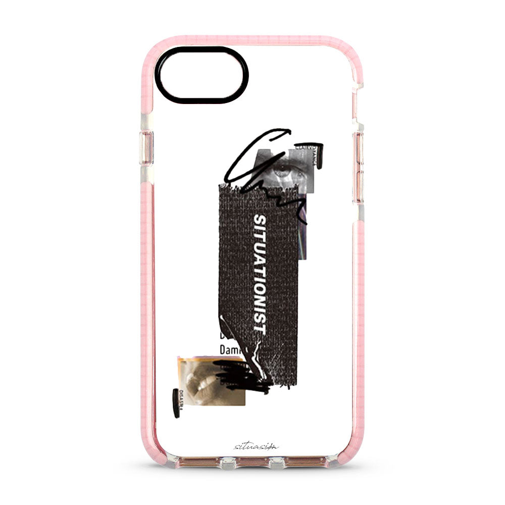 SITUASION Clear iPhonecase[Pink]