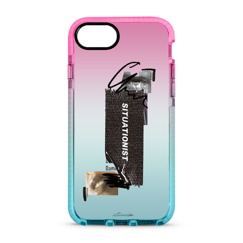 SITUASION Clear iPhonecase[Gradation]