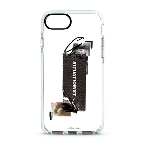 SITUASION Clear iPhonecase[White]