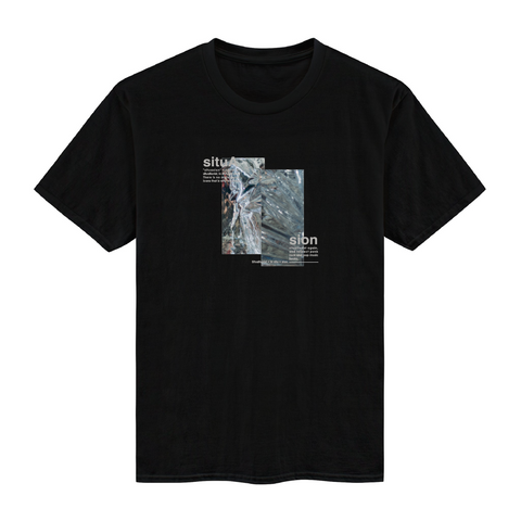 SITUASION T-shirt[Black space]