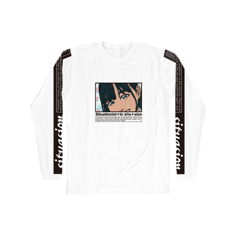 SITUASION Long Sleeve T-shirt[Ayu]