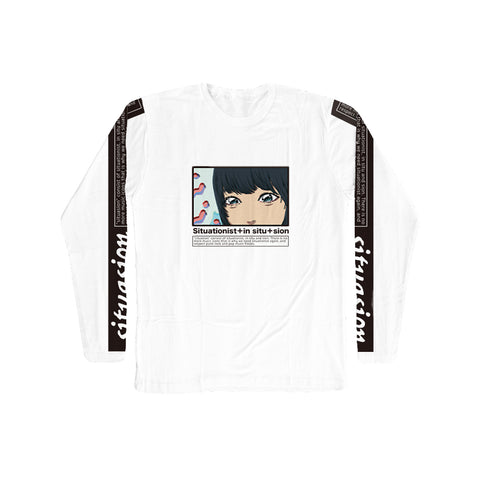 SITUASION Long Sleeve T-shirt[Suzu]