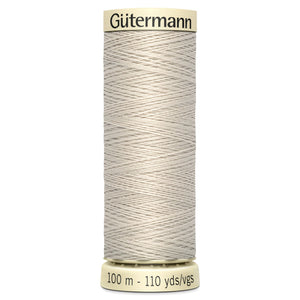 Gutermann Milk White Sew All Thread 100m (299)