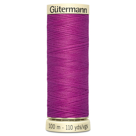 Gutermann Bright Pink Sew All Thread 100m (321)