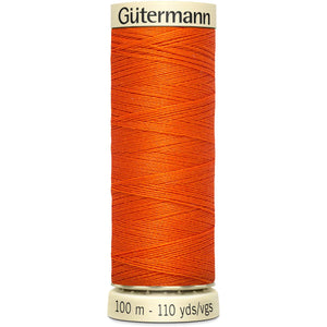 Gutermann Bright Orange Sew All Thread 100m (351)