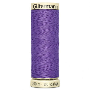 Gutermann Purple Sew All Thread 100m (391)