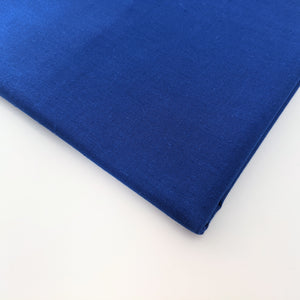 Plain royal blue 100% cotton