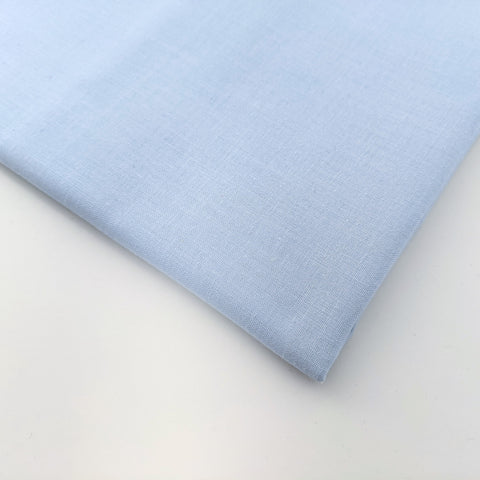 Plain baby blue 100% cotton