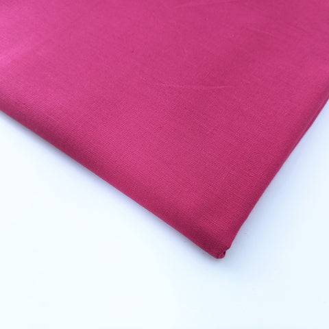 Plain bright pink 100% cotton