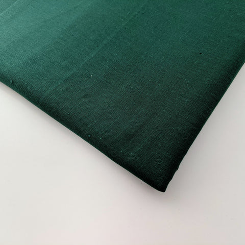Plain forest green 100% cotton