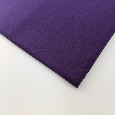 Plain dark purple 100% cotton