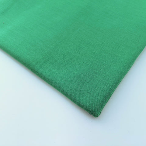 Plain green 100% cotton